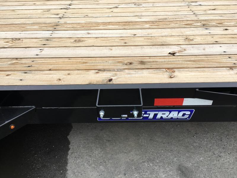 2018 Sure-Trac Implement 7'x18' Equipment Trailer 9900# GVW - ST8118IT-B-100 * CLEARANCE - FREE ALUMINUM WHEELS