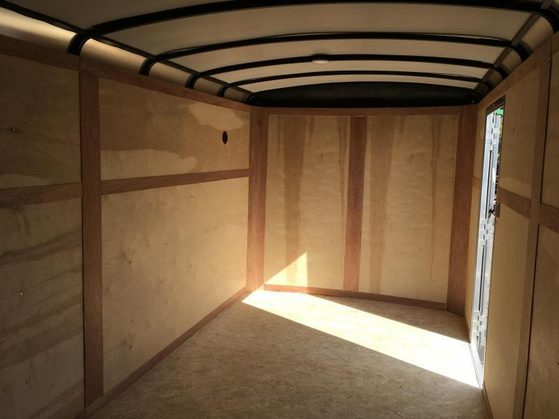 2018 Sure-Trac 7x16' Enclosed Cargo Trailer 7000# GVW - STR8416TA * CLEARANCE - FREE ALUMINUM SPARE