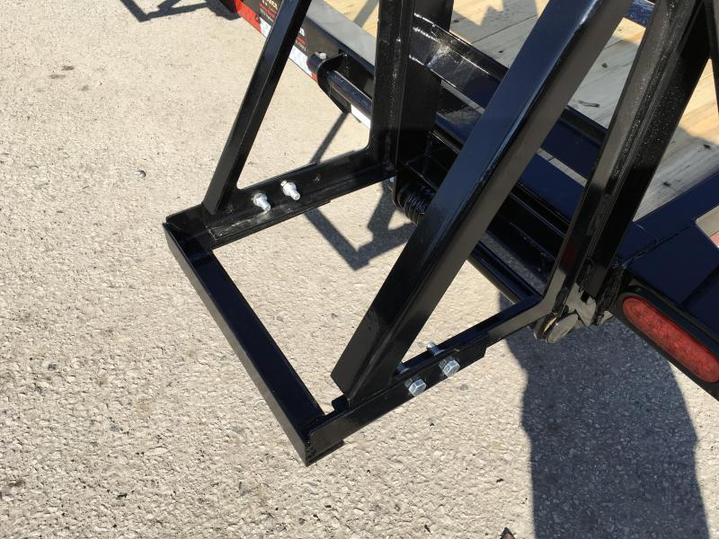 2019 Lamar 7x18' Equipment Trailer 14000# GVW * Stand Up ramps * 16