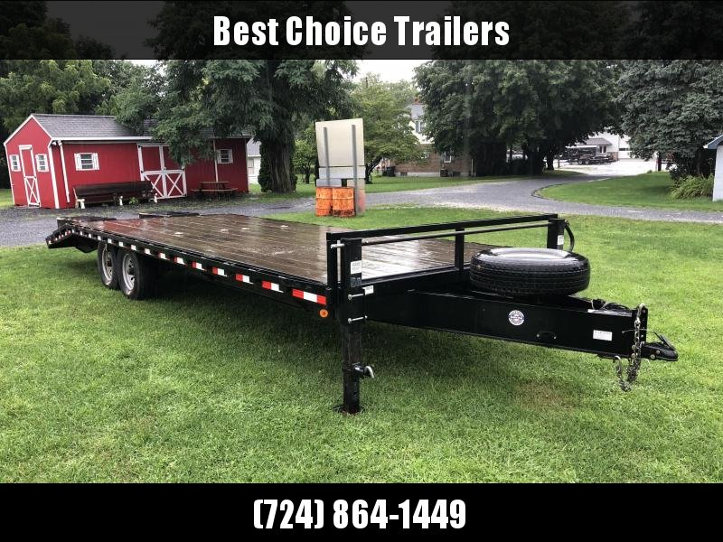 USED 2016 QSA 102x20+4 HD LP Beavertail Deckover Trailer 13600#