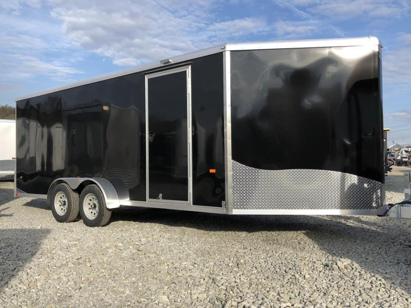 2019 Neo 7x22' Aluminum Enclosed Snowmobile All-Sport Trailer * LOADED MODEL * 3-SLED * BLACK