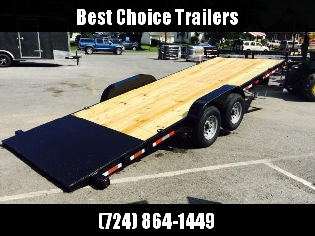 2019 QSA 7x20' 9850# GVW Power Tilt Equipment Trailer