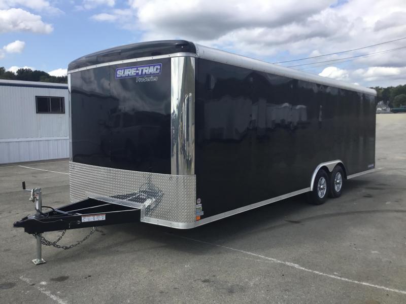 2018 Sure-Trac 8.5x24' Enclosed Car Trailer 9900# GVW - STRCH10224TA-100