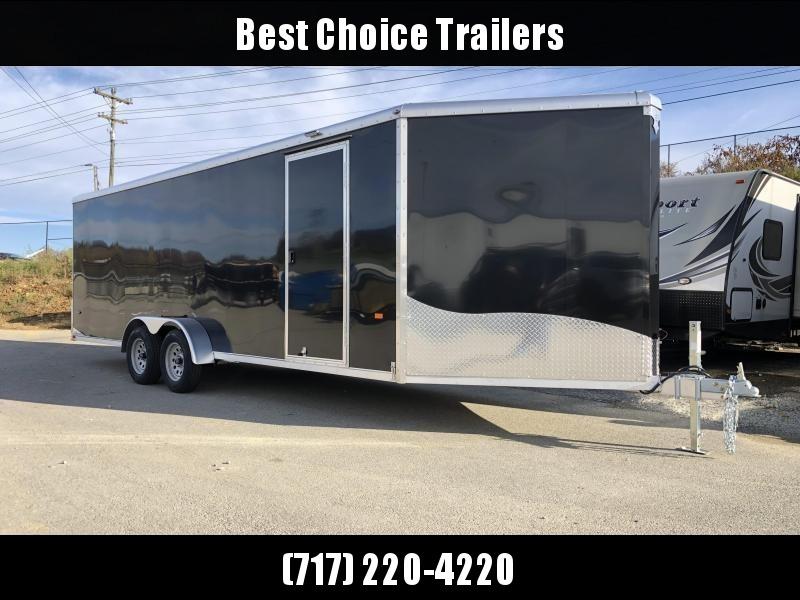 2019 Neo 7x26' NASR Aluminum Enclosed All-Sport Trailer * DELUXE MODEL * BLACK * UTV * ATV * Motorcycle * Snowmobile