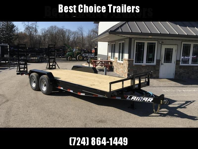 2018 Lamar 7x20' H6 Equipment Trailer 14000# GVW * CLEARANCE - FREE SPARE TIRE