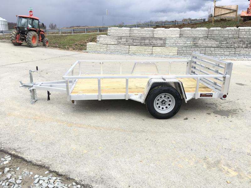 2019 QSA Deluxe 6x10' 2990# DELUXE Aluminum Landscape Utility Trailer