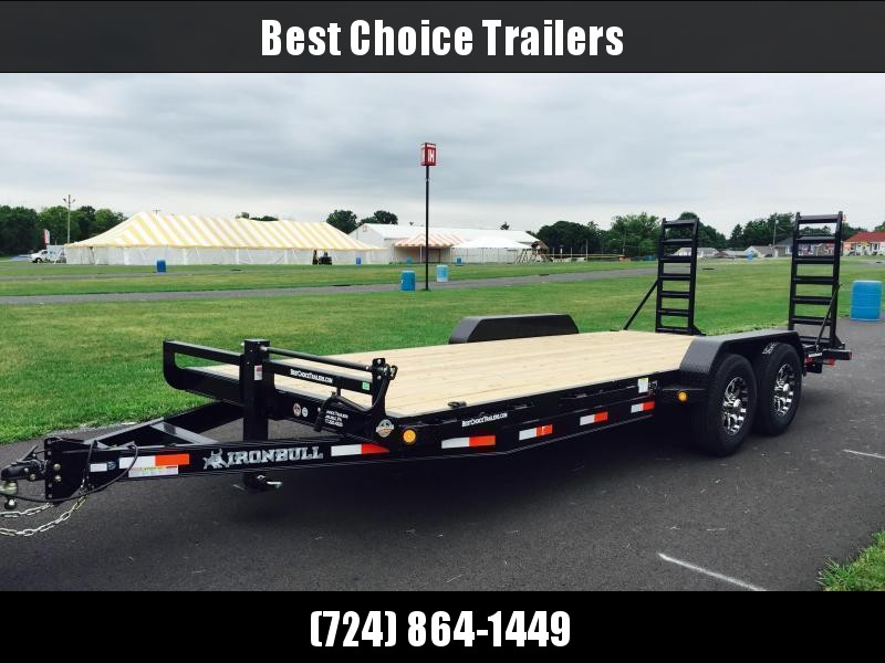 2017 Norstar Ironbull 7X20' Equipment Trailer 14000# GVW * ALUMINUM WHEELS
