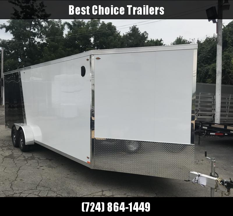 2019 Legend 7x29' Deluxe Aluminum Enclosed 4-place Snowmobile Trailer 7000# GVW E729TA35 *  UTV PACKAGE * 7' HEIGHT * FRONT/REAR RAMPS WITH SPORT FLAPS * FINISHED WALLS & CEILING * 110V PACKAGE