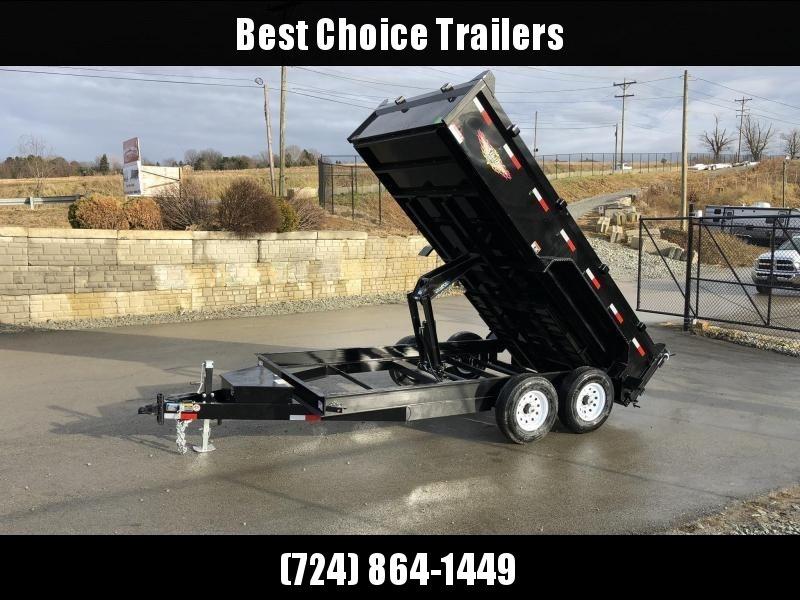 2019 H&H 7X14' 14000# Low Profile Dump Trailer H8314DBW-B-140