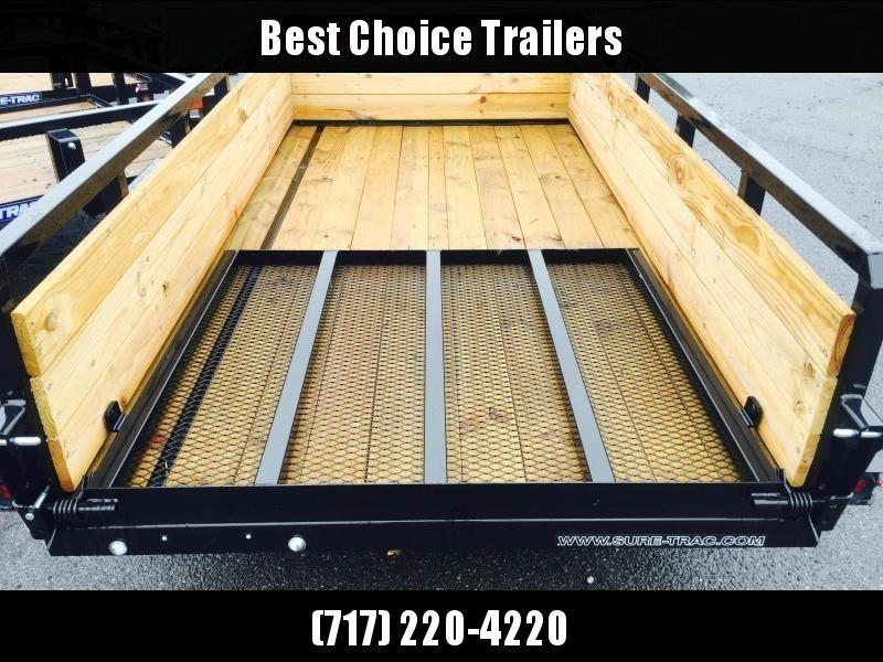 2019 Sure-Trac 5x10' Tube Top 3-Board High Side Utility Landscape Trailer 2990# GVW