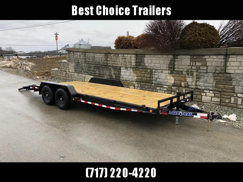 2019 Load Trail 7x20' Car Hauler Trailer 9990# GVW * CH8320052 * DEXTERS * POWDER PRIMER * BLACKOUT * 2-3-2 WARRANTY