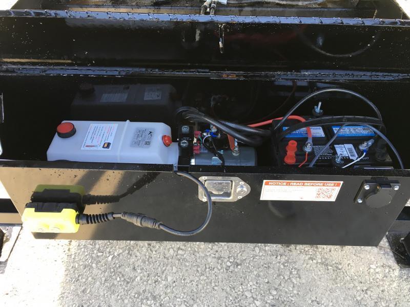 2018 Sure-Trac 102x24' Gooseneck Power Tilt Deckover 17600# GVW * 8K AXLE UPGRADE