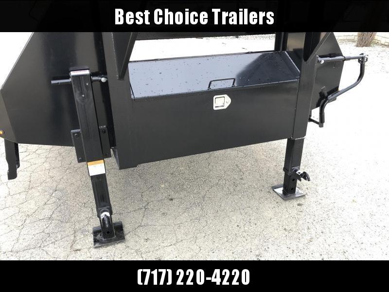 2019 Sure-Trac 102x20+5 22K Gooseneck Beavertail Deckover Trailer * PIERCED FRAME * FULL WIDTH RAMPS