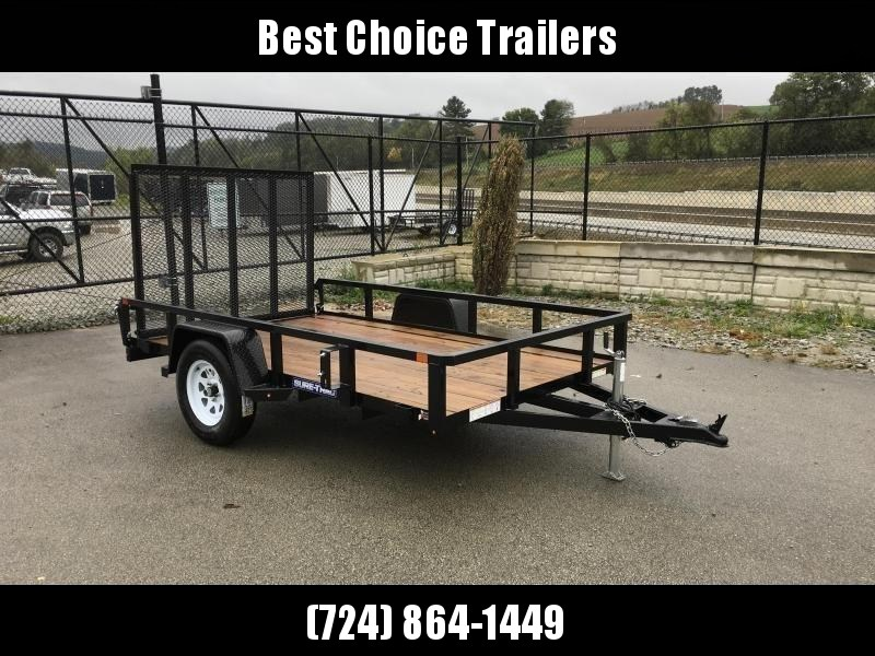 2019 Sure-Trac 6x10' 2990# Tube Top Landscape Utility Trailer