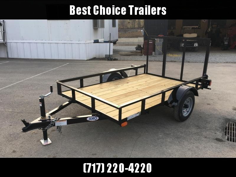 2018 AMO 5x8' Utility Trailer 2200# GVW * CLEARANCE - FREE SPARE