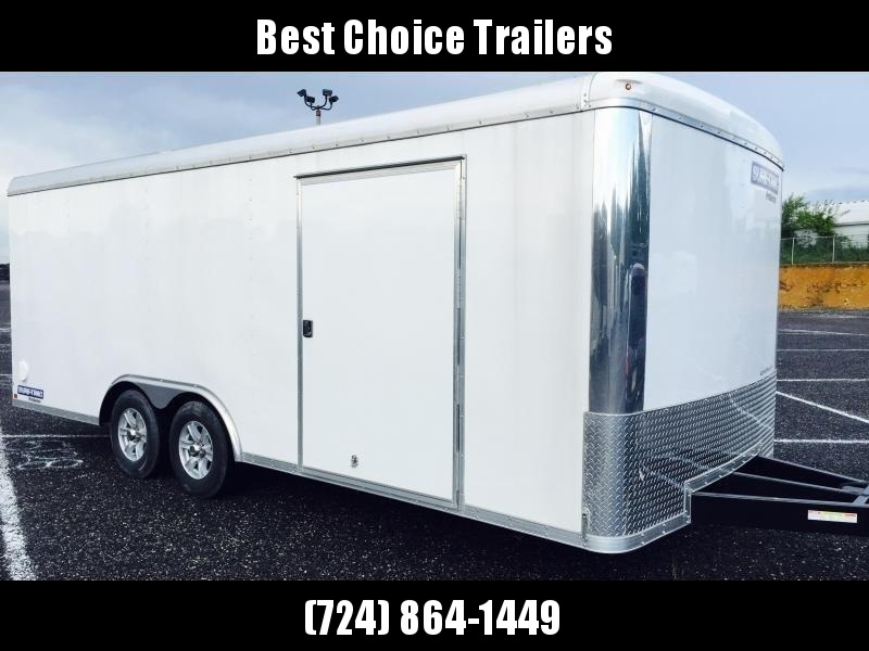 2019 Sure-Trac 8.5x20' STRCH Commercial Round Top Enclosed Car Hauler Trailer 9900#
