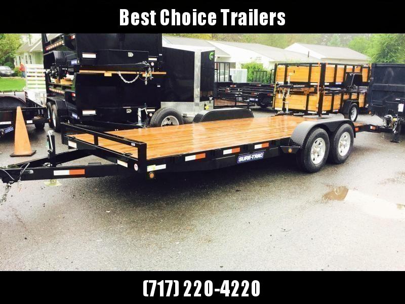2018 Sure-Trac 7x20' 9900# Wood Deck Car Hauler