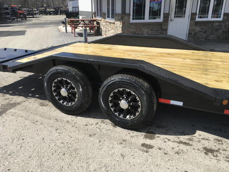 "2019 Ironbull 102x22' Equipment Trailer 14000# GVW * FULL WIDTH RAMPS * 102"" DECK * DRIVE OVER FENDERS"