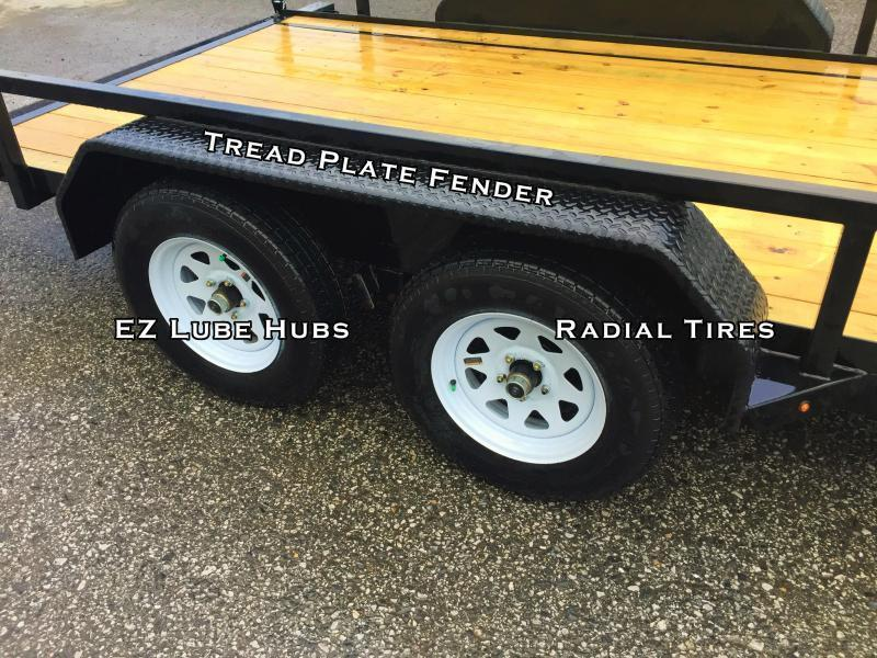 2019 Sure-Trac 7x18 Tube Top Utility Landscape Trailer 9900# GVW * PROFESSIONAL LANDSCAPE SERIES * 5' HD GATE * REINFORCED GATE