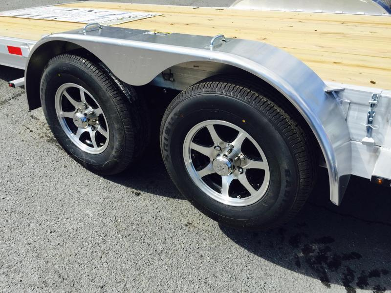 2018 H&H 7x20' Aluminum Power Tilt Car Trailer 9990# GVW * CLEARANCE