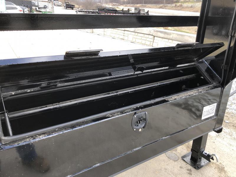 2018 Ironbull 102x20+5' Gooseneck Beavertail Deckover Flatbed 14000# * FULL WIDTH RAMPAGE RAMPS