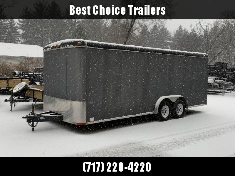 USED Continental Cargo Enclosed Landscaping Trailer 7000# * TORSION