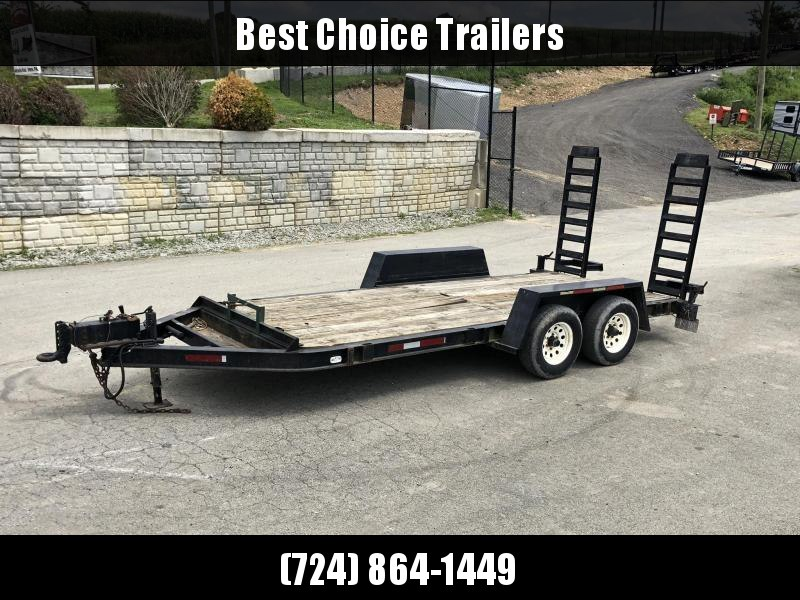 2000 Towmaster Trailers TRADE IN Equipment Trailer