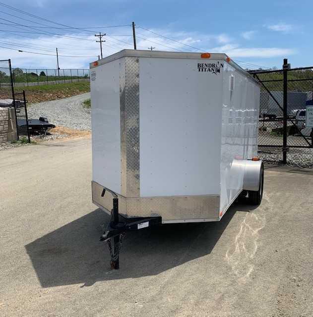 2016 Bendron Titan Trade In Enclosed Cargo Trailer