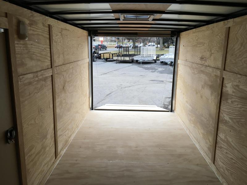 2019 Rock Solid 7x14' Enclosed Cargo Trailer 7000# GVW RS714TA * BLACKOUT PACKAGE * ATP FENDERS * RAMP DOOR