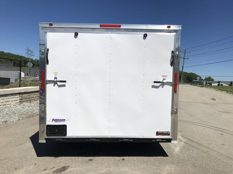 2018 Freedom 8.5x20' Enclosed Car Trailer 7000# GVW