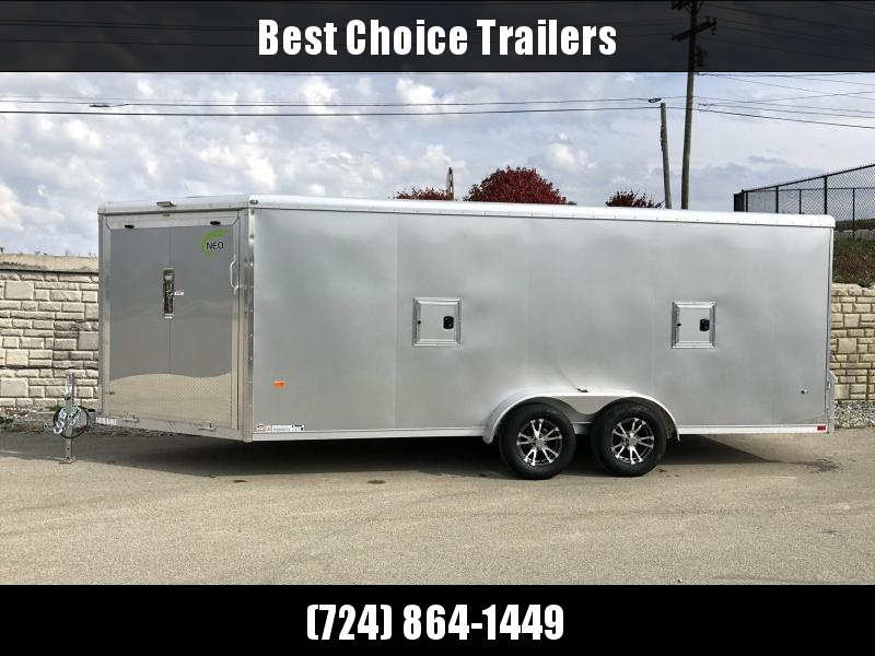 2019 Neo 7x22' NASR Aluminum Enclosed All-Sport Trailer * DELUXE MODEL * SILVER * UTV * ATV * Motorcycle * Snowmobile in Ashburn, VA