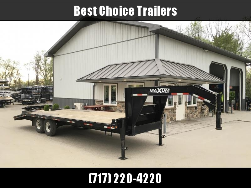 USED 2012 Cam Superline 102x20+5' 16000# GVW Beavertail Deckover Flatbed Trailer