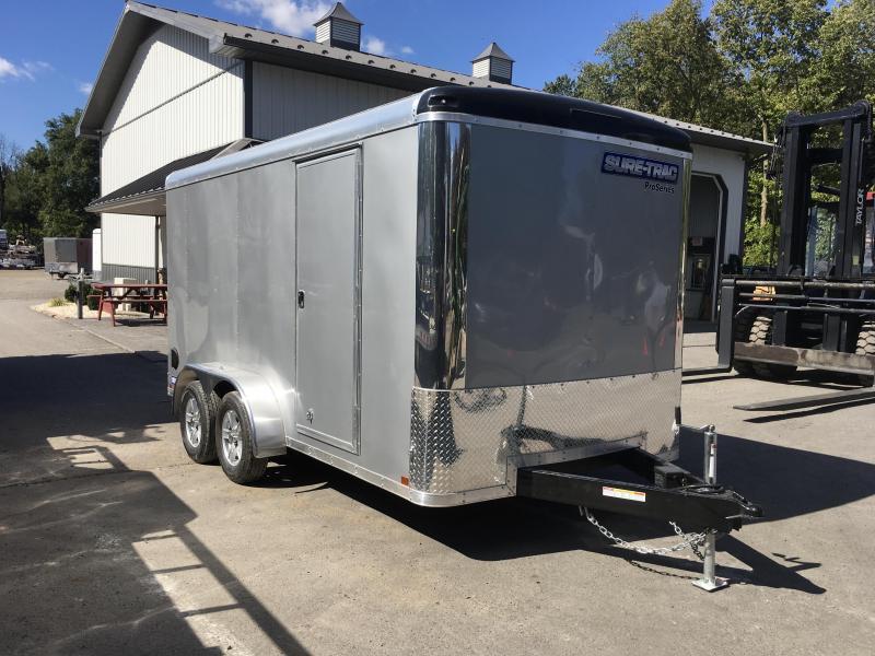 2018 Sure Trac 7x14' Enclosed Cargo Trailer 7000# GVW