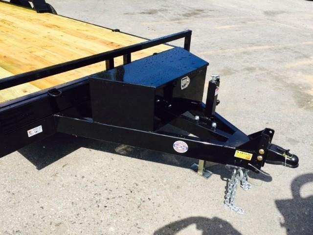 2018 QSA 7x20' 9850# GVW Power Tilt Equipment Trailer * CLEARANCE - FREE ALUMINUM WHEELS