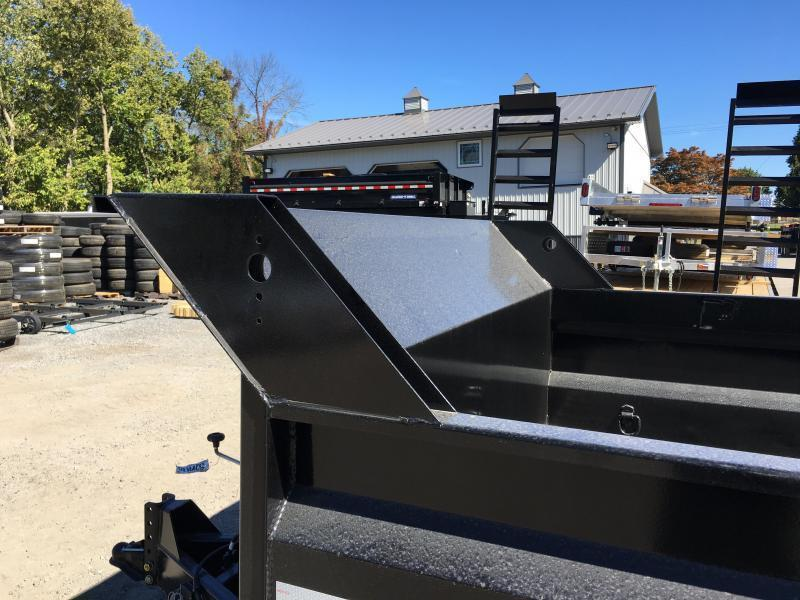 2018 Sure-Trac 7x14' LowPro HD Dump Trailer 14000# GVW - SCISSOR HOIST * CLEARANCE - FREE ALUMINUM WHEELS