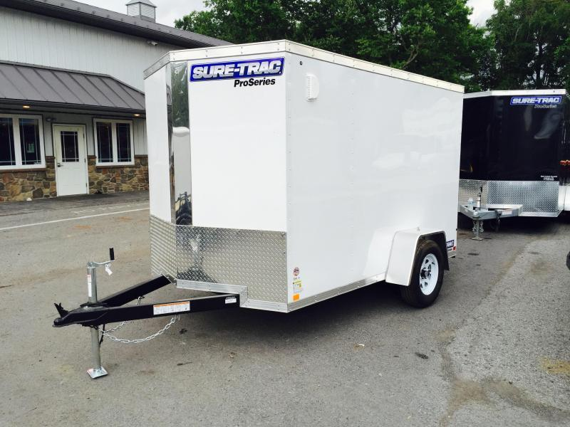 2018 Sure-Trac 6x10 STW Enclosed Cargo Trailer Ramp Door