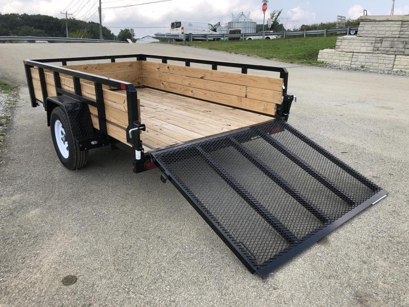 2018 Sure-Trac 6x10' Tube Top 3-Board High Side Utility Trailer 2990# GVW
