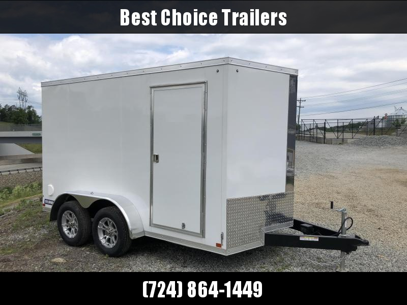 2018 Sure-Trac 7x12' Enclosed Cargo Trailer 7000# GVW
