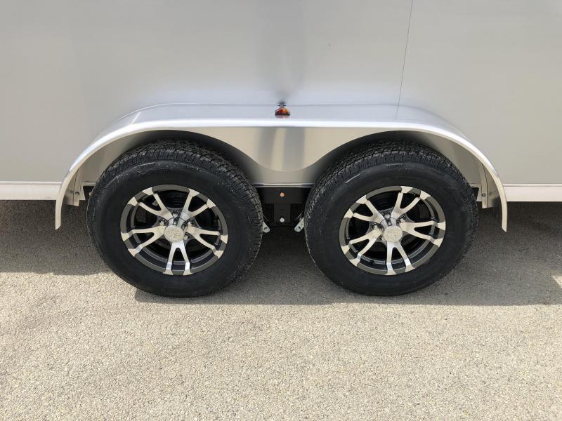 2020 Neo 7x14 NAVR Aluminum Enclosed Cargo Trailer * 7' HEIGHT UTV * RAMP DOOR * ALUMINUM WHEELS * PLASTIC VENTS * PRO STAB JACKS