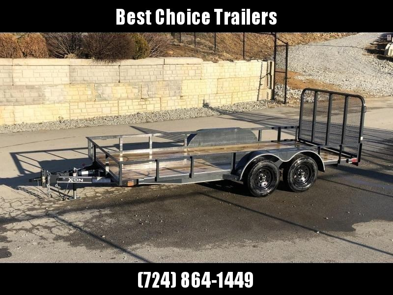 2019 X-On 77x14' Utility Landscape Trailer 7000# GVW * CHARCOAL in Ashburn, VA