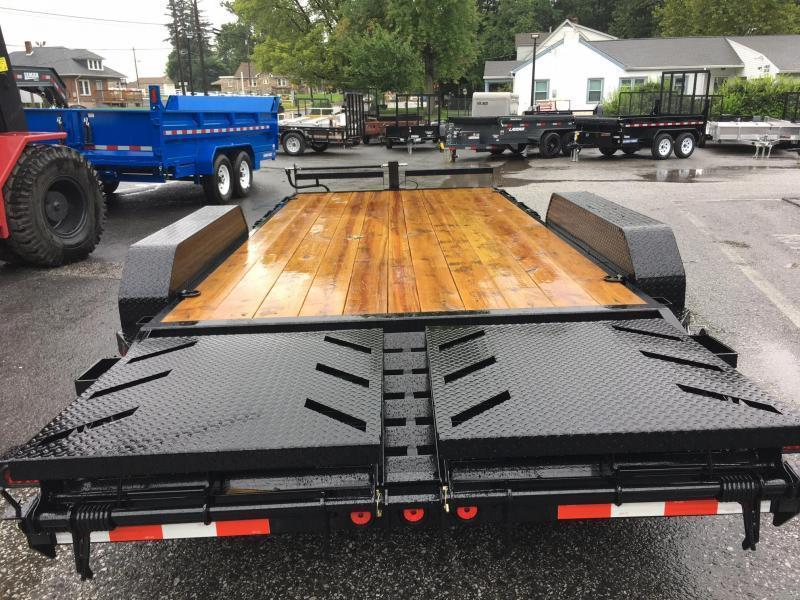 "2018 Norstar Ironbull 7X24' Equipment Trailer 14000# GVW * FULL WIDTH RAMPS * 8"" FRAME UPGRADE"