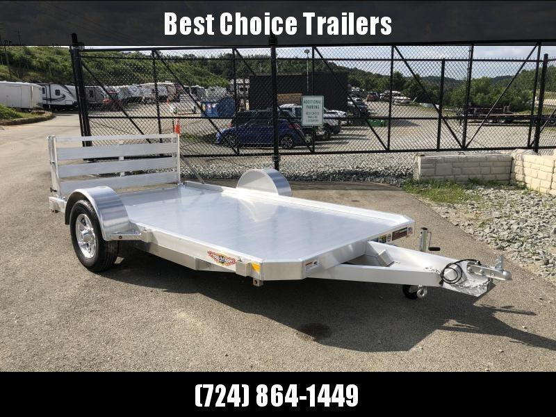 2018 H&H 6x10' LSA Utility Trailer 2990# GVW * CLEARANCE - FREE ALUMINUM SPARE