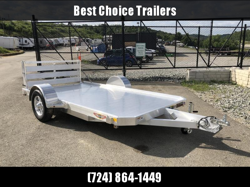 2018 H&H 6x10' LSA Utility Trailer 2990# GVW * CLEARANCE - FREE ALUMINUM SPARE
