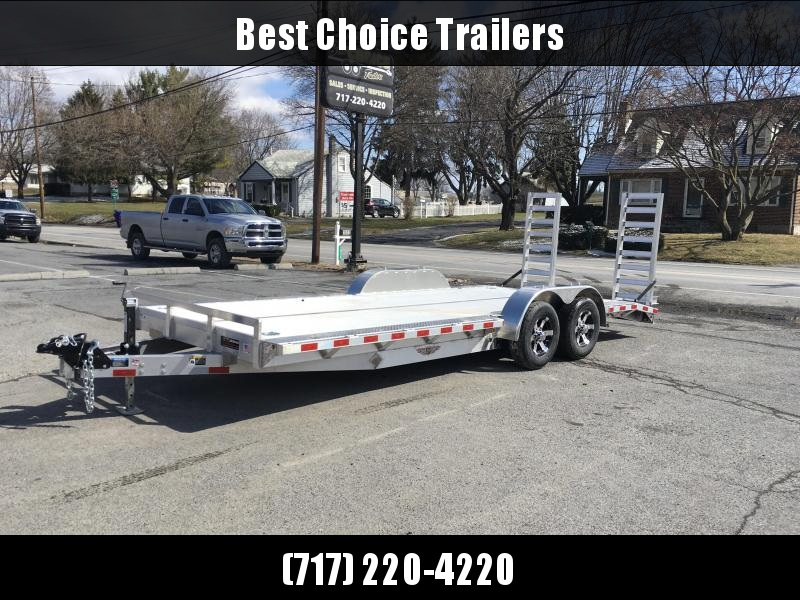 "2018 H&H 102""x20' Aluminum Equipment Trailer 9990# GVW * 102"" DECK EXTENSIONS * STAND UP RAMPS * EXTRUDED FLOOR * TORSION DROP AXLES * SWIVEL D-RINGS * EXTRA STAKE POCKETS  in Ashburn, VA"