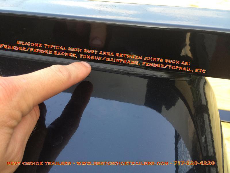 2020 Sure-Trac 7x16' Steel High Side Utility Trailer 7000# GVW