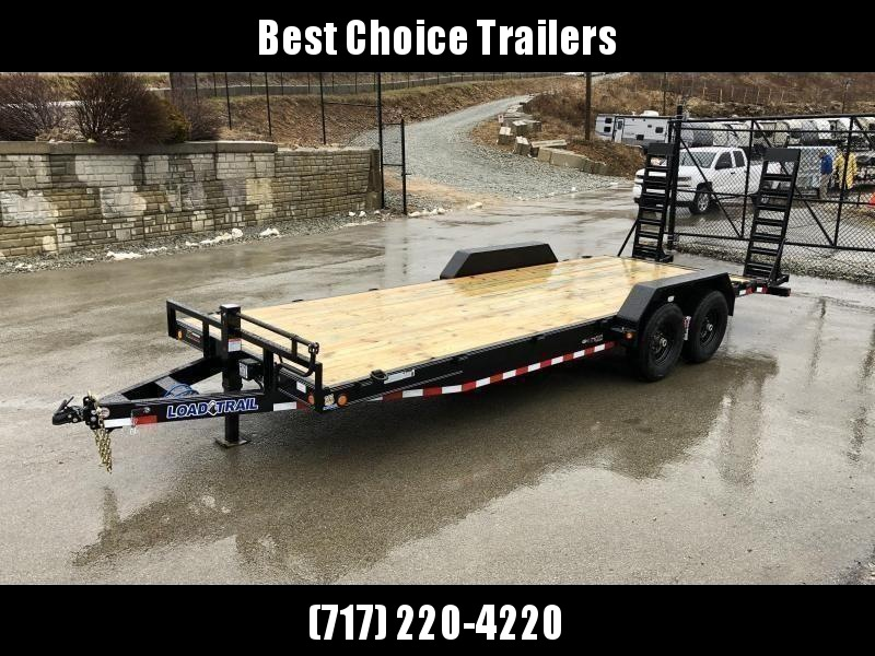 2020 Load Trail 7x18 Equipment Trailer 14000# GVW * CH8318072-EQ * STAND UP RAMPS * D-RINGS * COLD WEATHER * DEXTERS * 2-3-2 * POWDER PRIMER