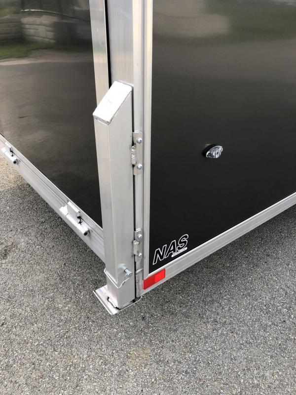 2020 Neo 7x22' Aluminum Enclosed All-Sport Trailer * 7' HEIGHT - UTV PKG * CHARCOAL * FRONT RAMP * LOADED * UTV * ATV * Motorcycle * Snowmobile