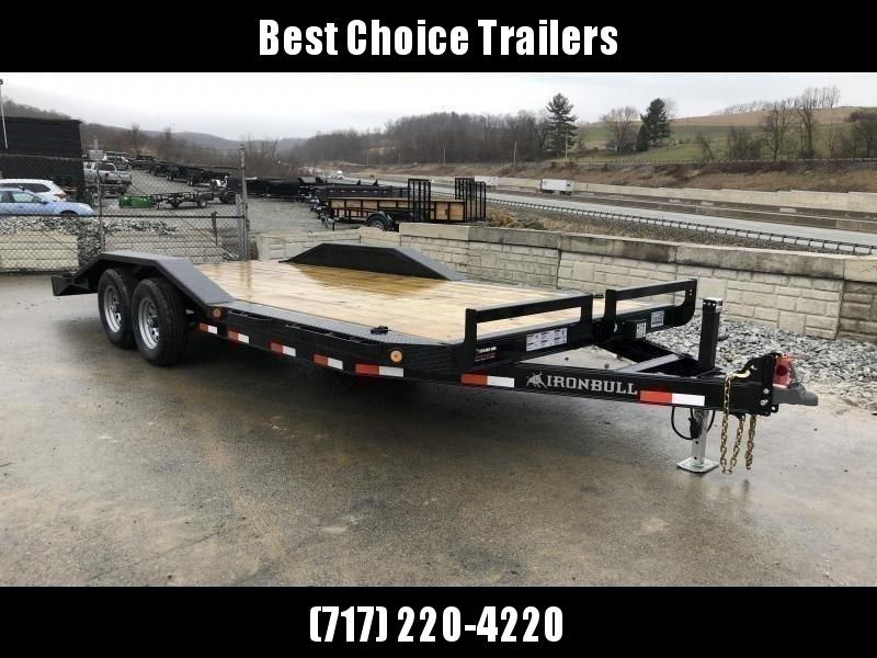 "2019 Iron Bull 102""x22' Wood Deck Car Trailer 9990# GVW * 102"" DECK * DRIVE OVER FENDERS in Ashburn, VA"