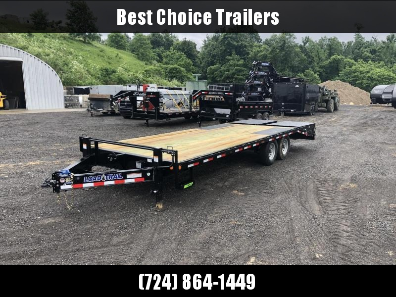 2019 Load Trail 102x25' Load Trail Beavertail Deckover Flatbed 14000# Trailer * PS0224072 * MAX RAMPS