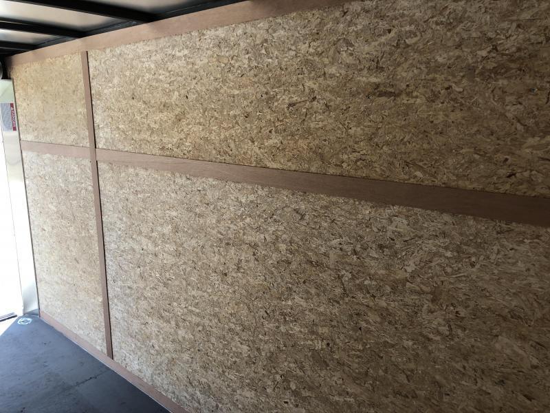 2018 Wells Cargo 6x12' VG500 Enclosed Cargo Trailer 2990# GVW * WHITE * RAMP DOOR